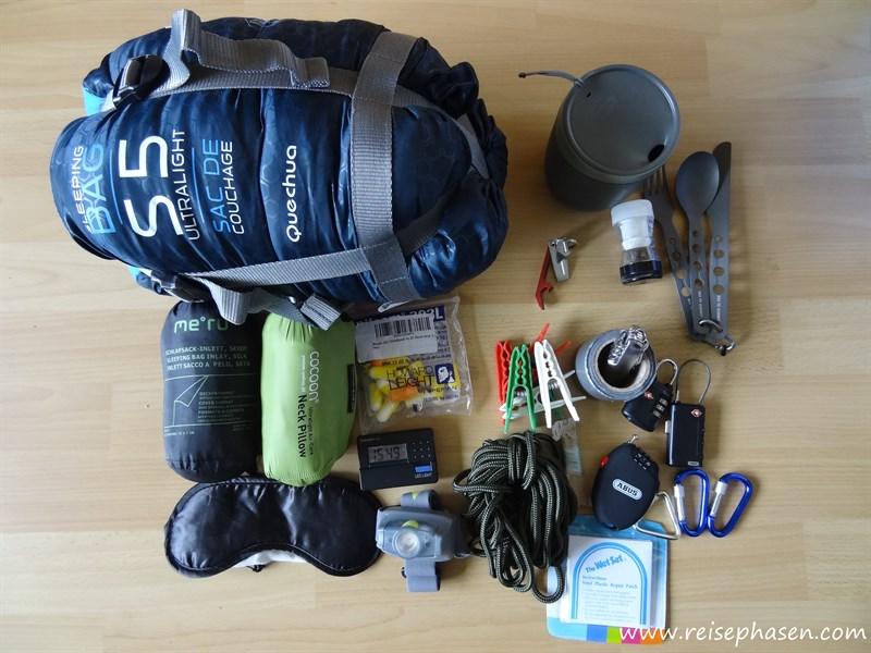 Ausrüstung « reisephasen