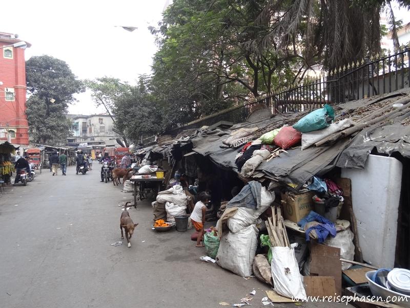 Wohnen auf der Straße