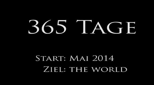 Wir sind am 15. Mai 2014 aufgebrochen die große, weite Welt zu entdecken. In diesem Video haben wir die ersten 365 Tage kurz zusammengefasst. :-) Wir wünschen Euch viel Spaß und genießt es mit uns.